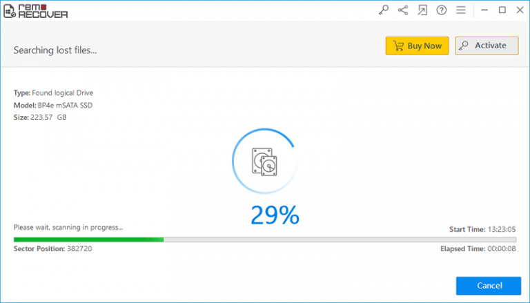 remo recovery partitions