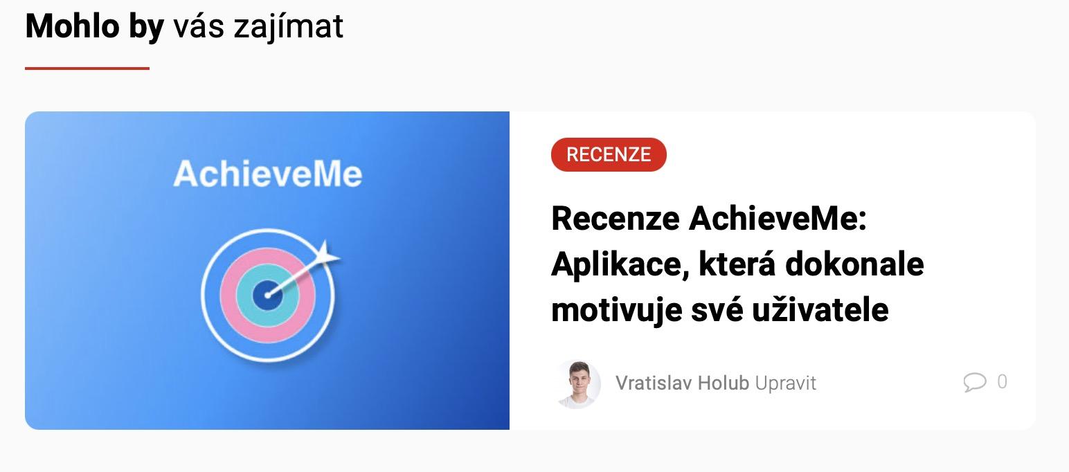 AchieveMe recenze
