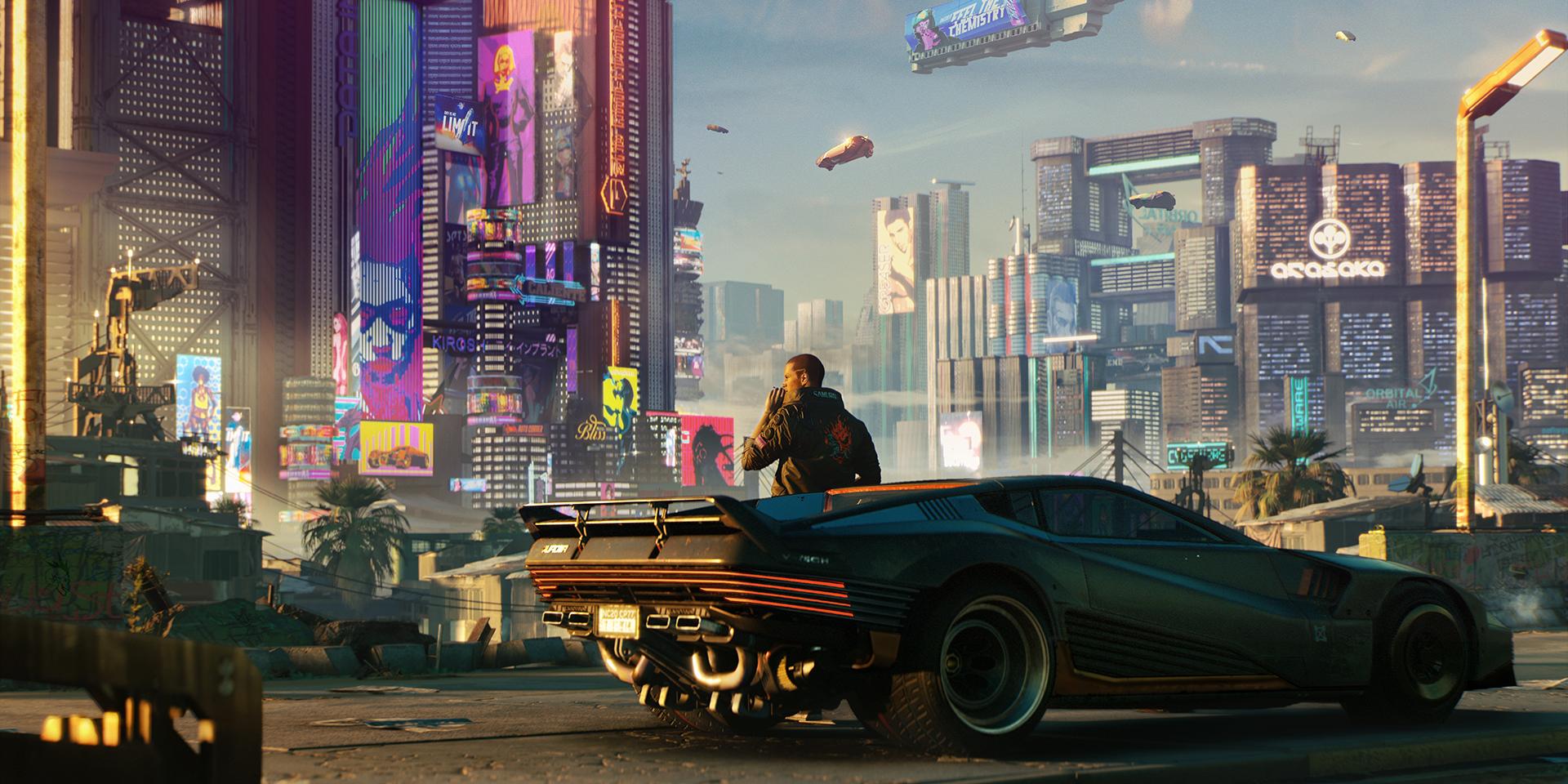 Cyberpunk 2077 Screenshot Night City