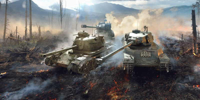 World of Tanks Blitz - dva tanky