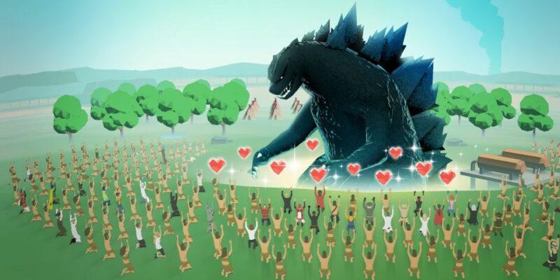 Run Godzilla - screenshot